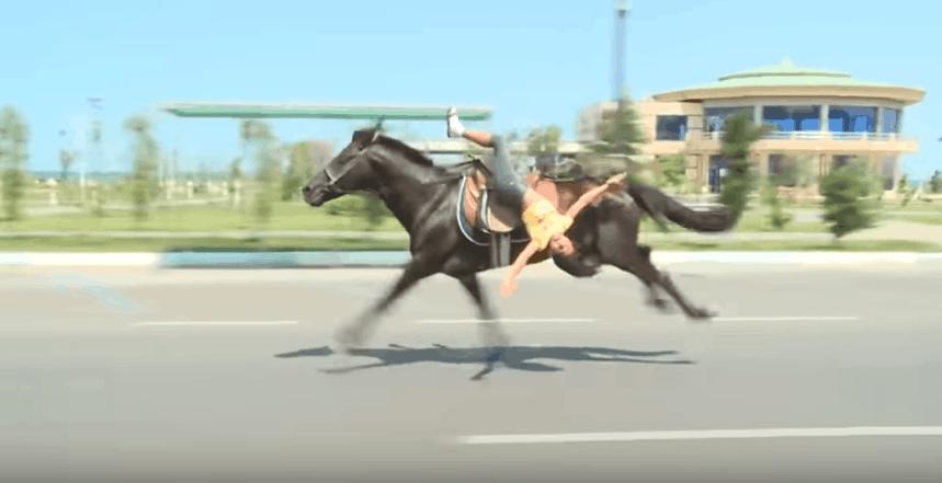 Horses Riding Mistake